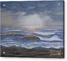 Ray Of Hope Acrylic Print by Kristi Roberts