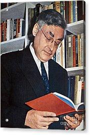 Raymond Queneau (1903-1976) Acrylic Print by Granger