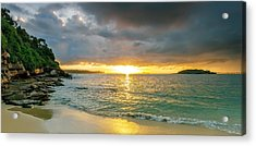 Rays Of Congwong Bay Acrylic Print by Mark Lucey