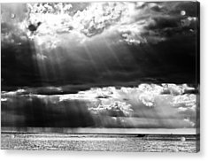 Rays Of Light Acrylic Print by Mike Rivera