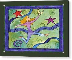 Reach For The Stars Acrylic Print by Pamela  Corwin
