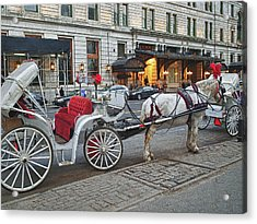 Ready For A Ride Acrylic Print by Kathy Jennings