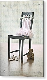 Ready For Ballet Lessons Acrylic Print
