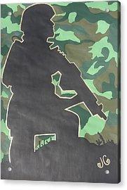 Ready For Battle I Acrylic Print by Jessica Cruz