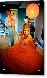 Ready For The Ball Acrylic Print by Dorothy StClaire