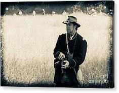 Ready The Revolver Acrylic Print by Kim Henderson