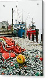 Ready To Go Acrylic Print by Frank Townsley
