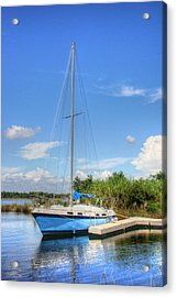 Ready To Sail Acrylic Print by Barry Jones