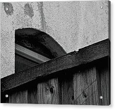 Rear Window Acrylic Print by Odd Jeppesen