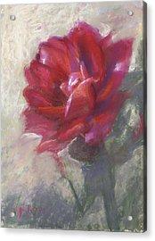 Reba's Rose Acrylic Print
