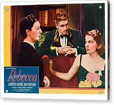 Rebecca, From Left Judith Anderson Acrylic Print