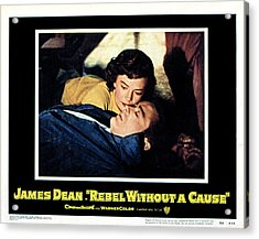 Rebel Without A Cause, Natalie Wood Acrylic Print by Everett