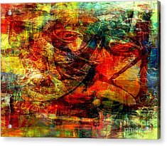 Recall - Rappel  Acrylic Print by Fania Simon
