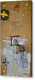 Recycle  Acrylic Print by Cliff Spohn