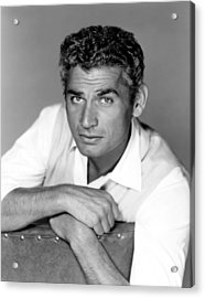 Red Ball Express, Jeff Chandler, 1952 Acrylic Print