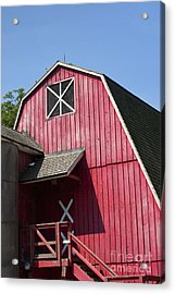 Red Barn Acrylic Print by Blink Images