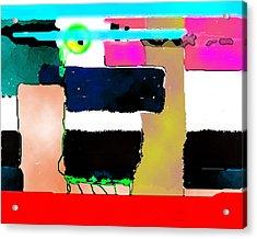 Red Base Acrylic Print