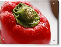 Red Bell Pepper Acrylic Print