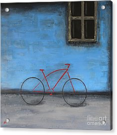 Red Bike Acrylic Print