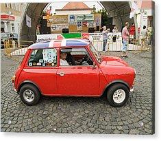 Red Car Acrylic Print by Odon Czintos