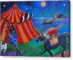 Red Dog Circus Acrylic Print