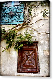 Red Door Blue Door Acrylic Print