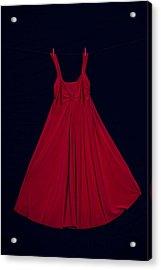 Red Dress Acrylic Print by Joana Kruse