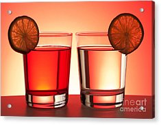 Red Drinks Acrylic Print by Blink Images