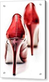 Red Hot Seduction  Acrylic Print by Bob Daalder