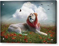 Red Lion Acrylic Print