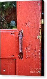 Red Of Course Acrylic Print by Gwyn Newcombe