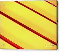 Red On Yellow Acrylic Print