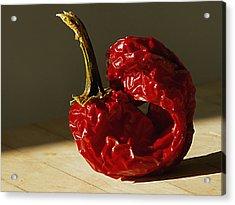 Red Pepper Acrylic Print by Joe Schofield