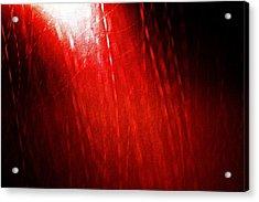 Red Rain 2 Acrylic Print by Sandro Ramani