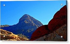 Red Rock Canyon 24 Acrylic Print by Randall Weidner