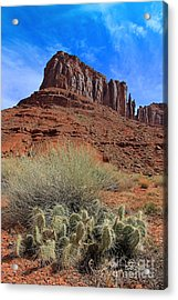 Red  Rock Cathedral  Acrylic Print