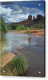 Red Rock Crossing In Sedona, Arizona Acrylic Print by David Edwards