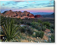 Red Rock Sunset II Acrylic Print