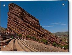 Red Rocks Amphitheater Acrylic Print by Jason Turuc