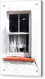 Red Sill Acrylic Print by Marion Galt