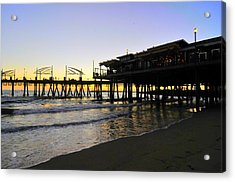 Redondo Pier South Acrylic Print