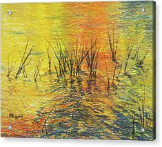 Reeds I Acrylic Print