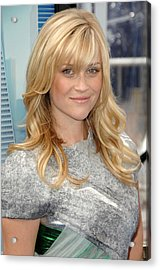 Reese Witherspoon Wearing A Rodarte Acrylic Print by Everett