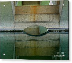 Acrylic Print featuring the photograph Reflected by Lin Haring