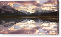 Reflecting Mountains Acrylic Print