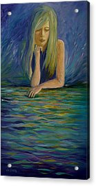 Reflecting On My Youth Acrylic Print by Joanne Smoley