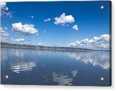 Reflecting Sky Acrylic Print