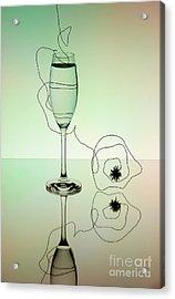 Reflection 02 Acrylic Print by Nailia Schwarz