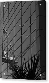 Reflection Enarc Acrylic Print by Kevin Bates