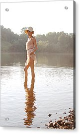 Reflection Acrylic Print by Jessica Wilson